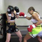 悶絶キックボクシング001 川崎優vs神崎まゆみ