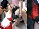 【HD】ツキ女王様のコスプレCBT統合版