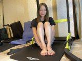 普通の女の子の足の爪切り-スマホ自撮り◎わかみほ(46歳)パフォーマー